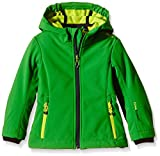 CMP , Giacca softshell Bambina, Verde (Irish-Lime Green), 164 cm,...