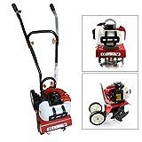 52CC Benzin Gartenhacke 2-Takt Motorhacke Bodenhacke 25-30cm Arbeitsbreite 8-10cm Arbeitstiefe