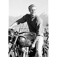 Steve McQueen 6–Mejor calidad. famouse Actor. Classic Póster Star. Amazing Decoración para Pared. Tamaño A4