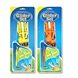 #2: Adraxx Set of 2 Kids Glider Catapult Outdoor Playing Toy