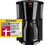 Melitta Kaffeefiltermaschine Look Therm, Aromaselector, Thermkanne, schwarz 101110