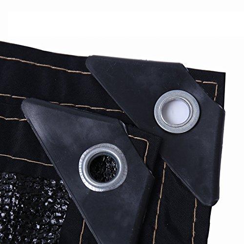 HUO 90% De Filet Résistant Aux UV De Tissu D'ombre De Sunblock D'ombre De Maille De Sun 2m (Couleur : Noir, Taille : 6.5'x16')