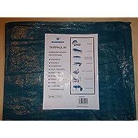 Waterproof 6' x 4' Tarpaulin, Tarp, Suitable for Camping or Fishing