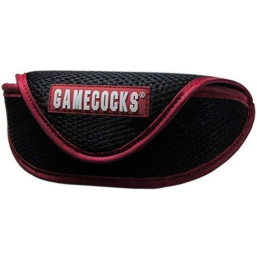 NCAA South Carolina Fighting Gamecocks Sports Sunglasses Case, Black