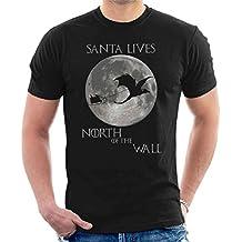 Santa North Wall Game Of Thrones Christmas Men's T-Shirt