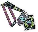 Disney - Maleficent - Schlüsselband Keychain - Mit Anhänger - Die dunkle Fee