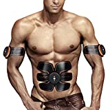 EMS Abs Trainer Ab Belt ,Ailida Abdominal Muscles Toner,Body Fit Toning Belts,Ab Toner