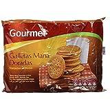 Gourmet Galletas María Doradas Tostadas al Horno - Pack de 4 x 200 g - Total: 800 g