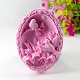 YL Birds M450 Silicone Soap mold Craft Molds DIY Handmade soap mould