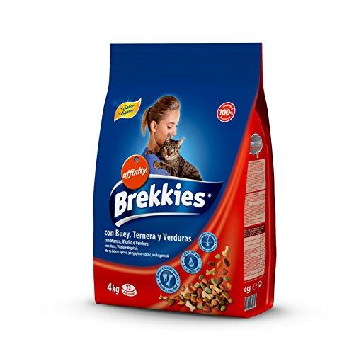 Brekkies alimento per gatti con manzo vitello e verdure - 4000 gr