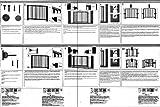Treppenschutzgitter Lupo 75-126 cm – NEU: 2 Befestigungsmöglichkeiten – ohne bohren oder anschrauben (bohren) - 3