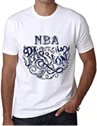One in the City Hombre Camiseta Gráfico T-Shirt NBA Is Passion Blanco