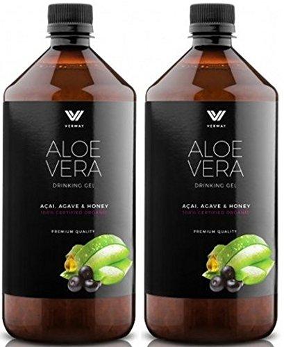 Aloe Vera Trinkgel mit Acai, Agave und Honig (2)