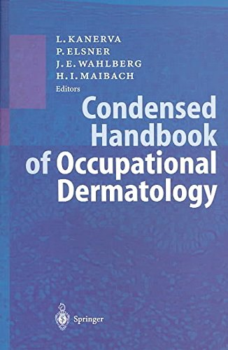 [(Condensed Handbook of Occupational Dermatology)] [Edited by Peter Elsner ] published on (January, 2004)