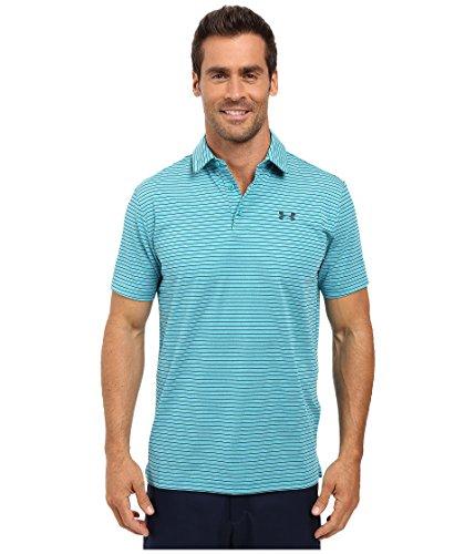 Under Armour Golf-Poloshirt für Herren, 1253479, Pacific/Nova Teal, S