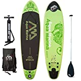 Aqua Marina Breeze Sup Inflatable Stand Up Paddle Surf Tarjeta Modelo 2016 Board+Paddle