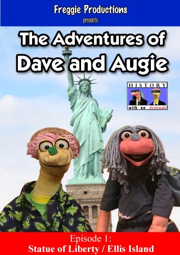 The Adventures of Dave and Augie: Statue of Liberty / Ellis Island - Island Statue