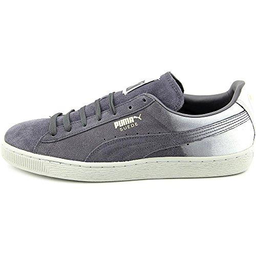 Puma Suede Classic + Blur Wildleder Turnschuhe Periscope/Glacier Grey/White