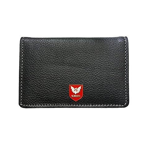 Scarlets rugby leather card holder wallet