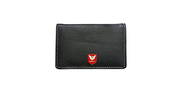 Scarlets rugby leather card holder wallet