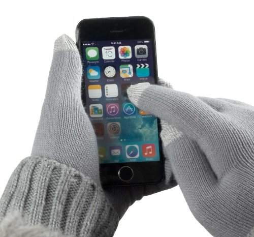 yayago Touchscreen Handschuhe kapazitiv Universalgröße (ca. M – L) – für Lenovo Book Yoga Windows / Android