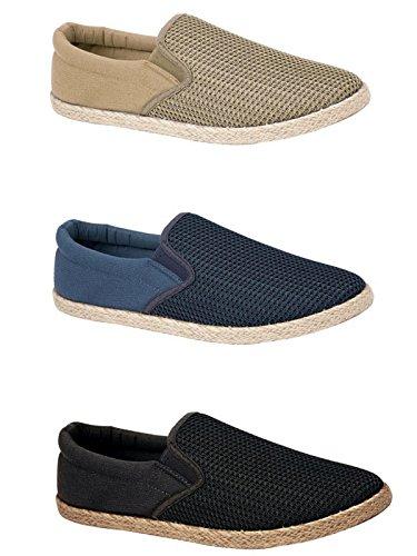 Foster Footwear , Jungen Unisex Erwachsene Herren Damen Espadrilles Navy