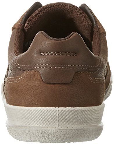 Ecco Enrico, Baskets Basses Homme Braun (51764CAMEL/COFFEE)