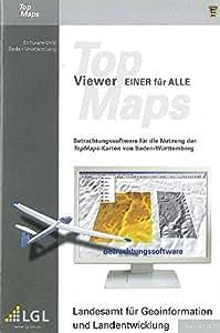 """Baden-Württemberg DVD-ROM TopMaps-Viewer """"Einer für Alle"""": (Software 6.8) Betrachtungssoftware für die Nutzung der TopMaps-Karten von Baden-Württemberg. Zusätzlich ist enthalten eine Karte BRD M. 1:1 Mio. und eine Karte M. 1:200 000 von Ba.-Wü"""