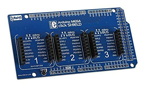Debug-karte (Tochter Karten & OEM Boards Arduino Mega Click Shield, 1 pack, 1)