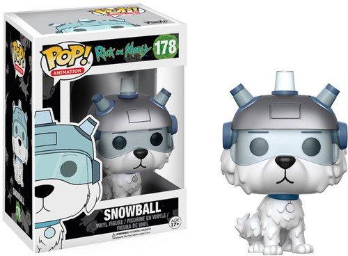 funko pop rick and morty FunKo 12445 Actionfigur Rick und Morty: Snowball