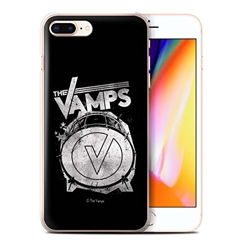 Offiziell The Vamps Hülle / Case für Apple iPhone 8 Plus / Pack 6pcs Muster / The Vamps Graffiti Band Logo Kollektion Bassdrum