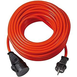 Brennenstuhl Bremaxx Verlängerungskabel (25m Kabel, für den Einsatz im Außenbereich IP44, einsetzbar bis -35°C, öl- und UV-beständig) orange