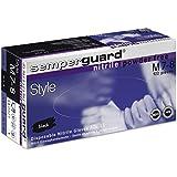 Semperguard Nitril Einweghandschuhe Style, Box mit 100 Stück, Größe M