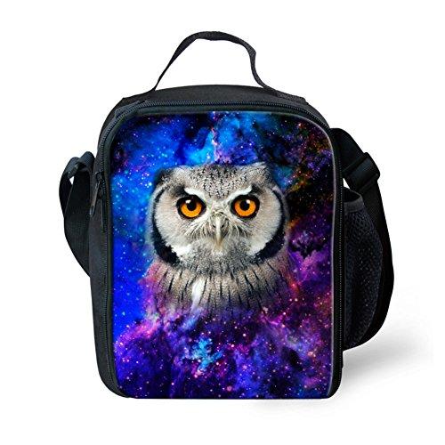 Showudesigns Cool Galaxy Star lunch bag con tracolla lunga regolabile, color 6, small color 2