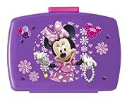 Disney Topolino Minnie Mouse - Box Spuntino Lunchbox Portamerenda 17,5 x 12 x 7,0 cmPer ipanini,verdure,barrettedicerealiu.v.m.Snack Box in materiale moltorobusto.Chiusura:SliderMateriale:polipropilenePPDimensioni: 17,5x12x7,0c...