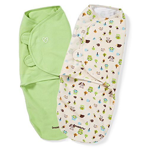Preisvergleich Produktbild SwaddleMe Original Swaddle 2-PK, Woodland Friends (LG) by SwaddleMe