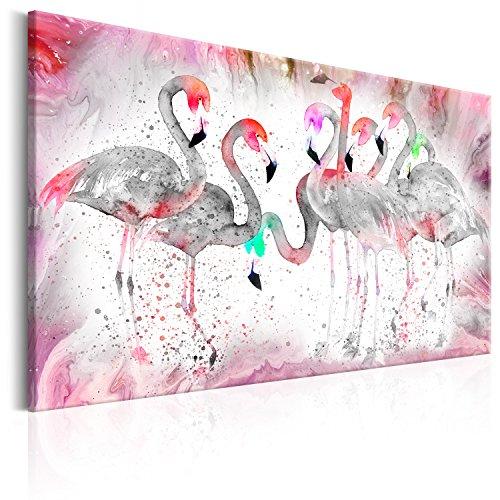 Murando Cuadro Flamencos 120x80 cm 1 Parte impresión