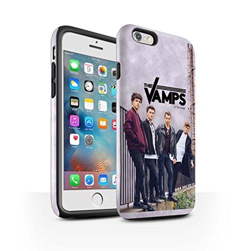 Offiziell The Vamps Hülle / Glanz Harten Stoßfest Case für Apple iPhone 6+/Plus 5.5 / Pack 6pcs Muster / The Vamps Fotoshoot Kollektion Sammelalbum