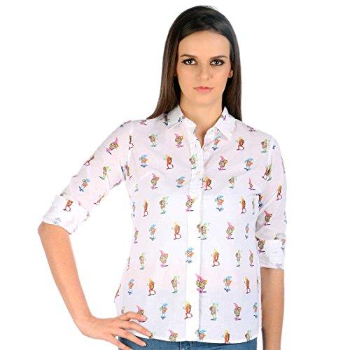 Chimp AQUATIC LIFE Supershirt Womens (White, Small)