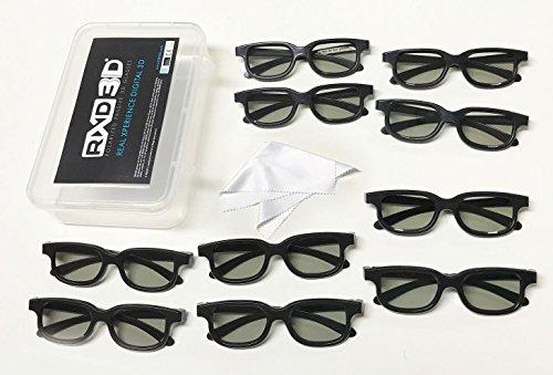 RXD3D Polarized Passive 3D Glasses, 10(RXD3D-RH052)