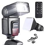 Neewer® TT560 Speedlite Blitzgerät *Luxus Ausstattung* für Canon Nikon Sony Panasonic Olympus Fujifilm Pentax Sigma Minolta Leica und andere SLR Digital SLR Film SLR Kameras und Digital Kameras mit Single-Kontakt Hot Shoe - beinhaltet: (1)Neewer TT560 Spe hier kaufen