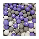 100 Bälle Ø 7cm Bälle für Bällebad viele bunte Farben