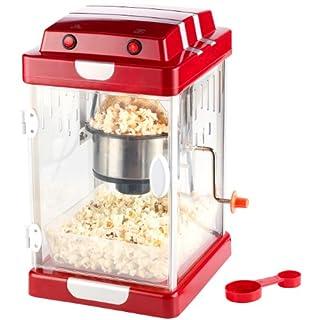 Rosenstein & Söhne Popkornmaschine: Retro-Popcorn-Maschine