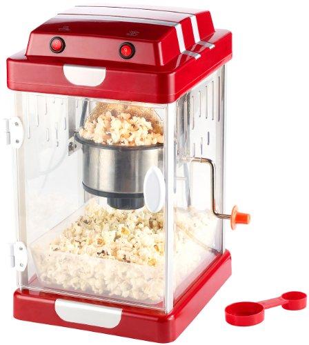 Rosenstein & Söhne Popcornmaschinen: Popcorn-Maschine: Popcorn einfach selbst machen! (Popcornautomat)