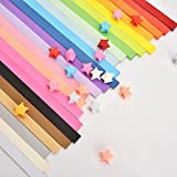 ULTNICE Origami Stars Papers in 27 Colors for Kids Children DIY Craft 1080pcs