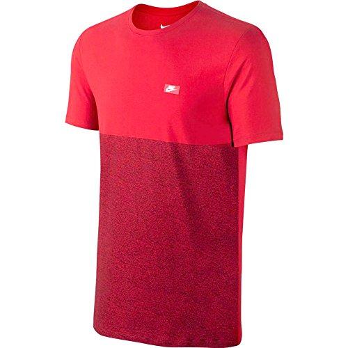 Nike Herren Schuhkartons kurzärmeliges T-Shirt rot - University Red