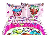 Best Shopkins Sheet and Pillowcase Sets - Shopkins Deluxe Microfiber Complete Sheet Set w/ Pillow Review