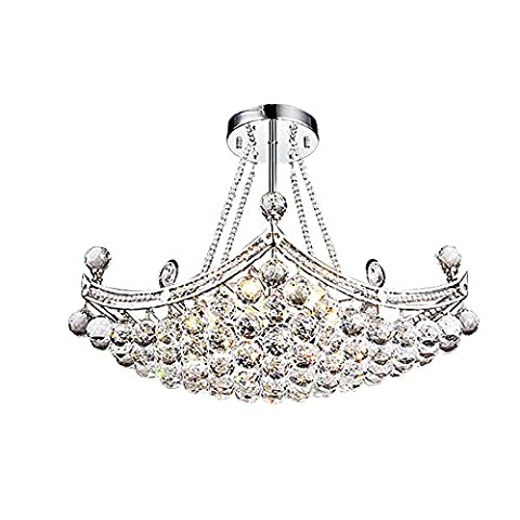 Modern Luxury K9 Crystal Chandeliers, The New Chandeliers for Living Room, Restaurants, Villas , silver