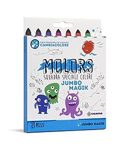 Osama- Estuche 8 rotuladores Jumbo Magik de Colores (OW 12045)