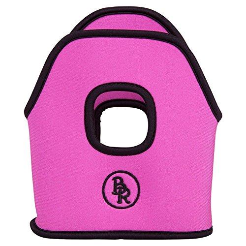 BR Bügelhüllen Bügelschützer Steigbügelschützer Neopren 12 cm pro Paar (pink)
